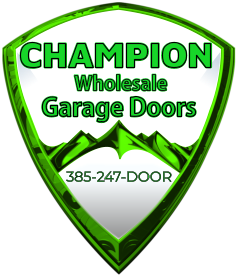 Garage Doors CHAMPION Wholesale 385-247-DOOR